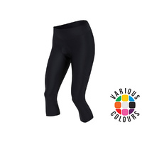 Pearl Izumi Womens Escape Sugar Cycling Three Quarter Tight  - Black Large