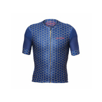 Le Col Pro Air Jersey Navy/Gold Hex