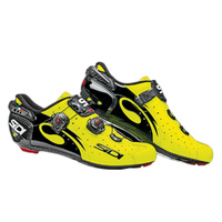 Sidi Wire Carbon Shoes - Fluro Yellow/Black