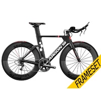 Argon 18 E-117 Tri Frameset 2018 - Black/Red