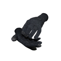 Defeet DuraGlove Electronic Touch Wool Glove - Charcoal