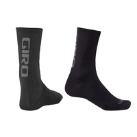 Giro HRc Team Socks - Black/Dark Shadow