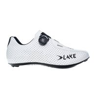 Lake CX 301 Wide Road Shoes - White