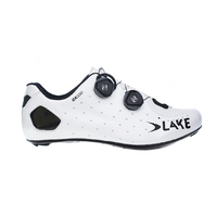 Lake CX 332 Wide Road Shoes - White