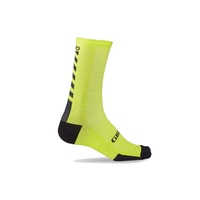 Giro HRc + Merino Socks - Bright Lime/Black