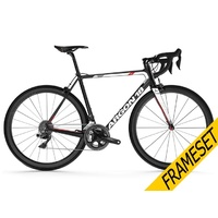 Argon 18 Gallium Pro Frameset - Black/White Gloss