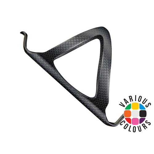 SUPACAZ TriFly Bike Bicycle Water Bottle /& 3k Carbon Cage Kit Multi Colors